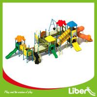 kids plastic slide, outdoor children playground equipment, outdoor playground set