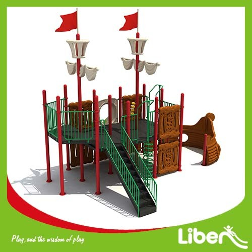 Russia hottest LLDPE Material and Outdoor Playground Type Children Playground Equipment