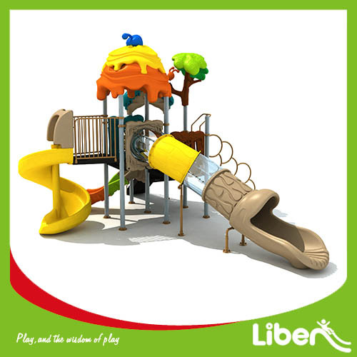 China Used Commercial Big Outdoor Children Playground Equipment for school