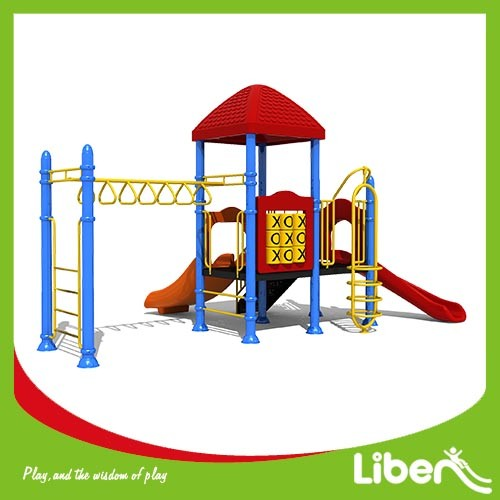Used Commercial Big Outdoor Children Playground Equipment for school