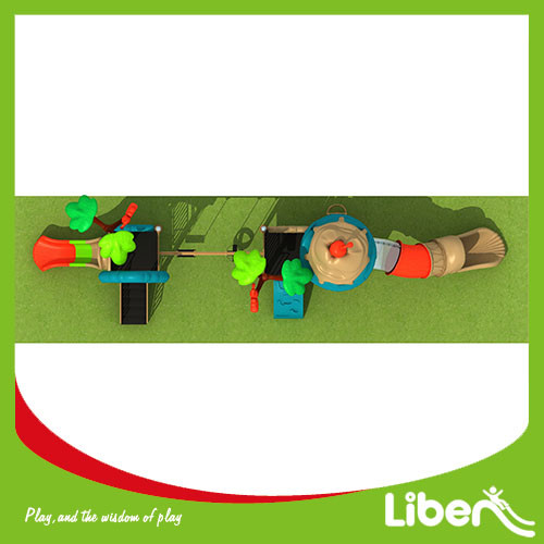 Canada Custom Children climbing structure outdoor playground equipment