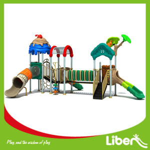 outdoor children playground amusement park,outdoor playground plastic slide