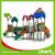 outdoor children playground amusement park,outdoor playground plastic slide