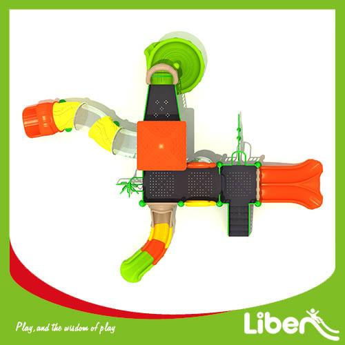 Commercial kids indoor playground children plastic slide
