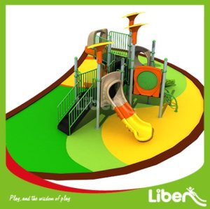 For Amusement Park Playground Equipment Slides Builder