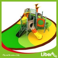 For Amusement Park Playground Equipment Slides Builder