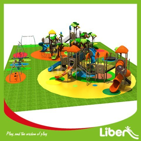 For Park Large Outside Play Structures Manufacturer