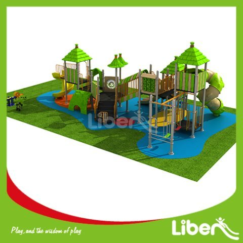 With Slide Large Commercial Outdoor Play Equipment Sellers