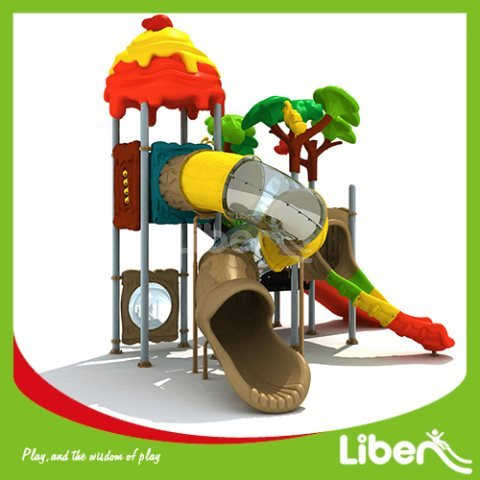 With Tube Slide Kids Outdoor Equipment For Sale