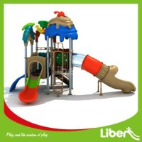 With Swing Playground Equipment Slides Manufacturer