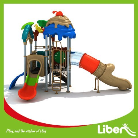 With Swing Playground Equipment Slides Manufacturer
