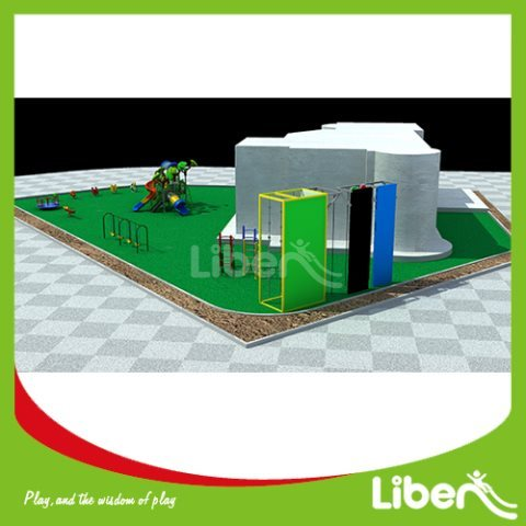 With Customized Design Outdoor Children's Play Equipment Supplies