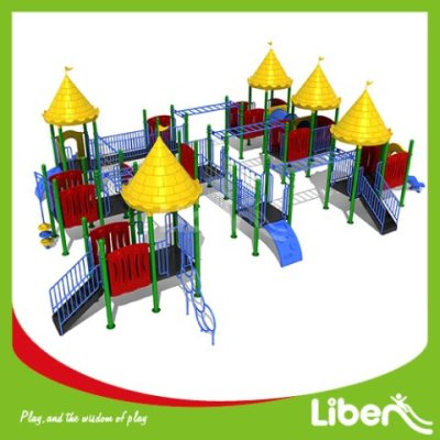 Large Plastic Outdoor Play Equipment Factory