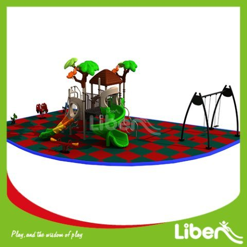 With Swing Residential Playsets Builder