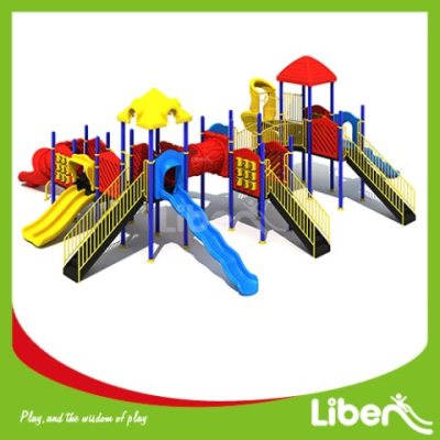 With Assembly Manual Play Park Equipment Factory