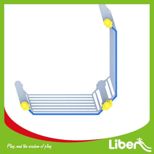 Outdoor fitness circuit Vertical Ladder