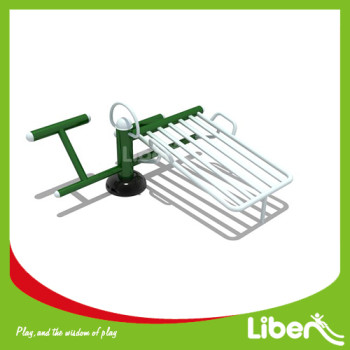 Outdoor exercise machines Single sit-up board