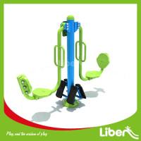 green outdoor gym Leg Press