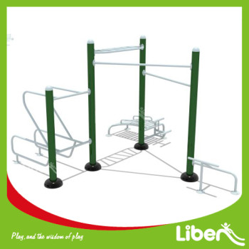 fitness trail equipment outdoor Push-up and Dip station