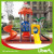 China commerical used high quality outdoor playground equipment with plastic slide