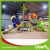 customized high quality Kids Outdoor Playground / Large Plastic Amusement Park