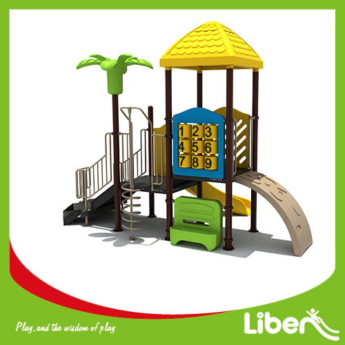 hot sales customized chlidren plastic outdoor playground euqipment for sale