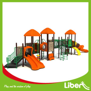 Children plastic playhouse outdoor playuground equipment for sale