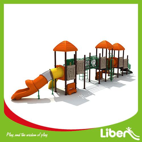 Children plastic playhouse outdoor playuground equipment for sale