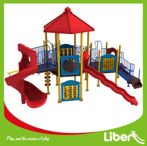 hot sales green Kids Plastic Slide,Outdoor Children Playground ,Outdoor Playground