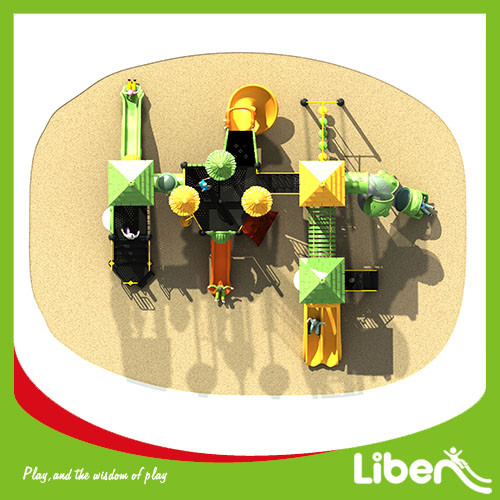 Customized amusement park equipment oudoor playground equipment