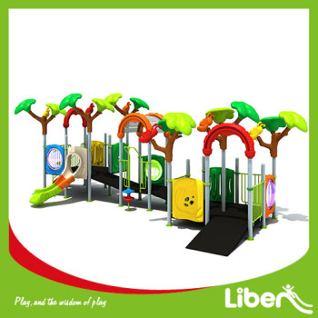 Cheap Kindergarten Swing Slides Amusement Park Outdoor Playground made in China