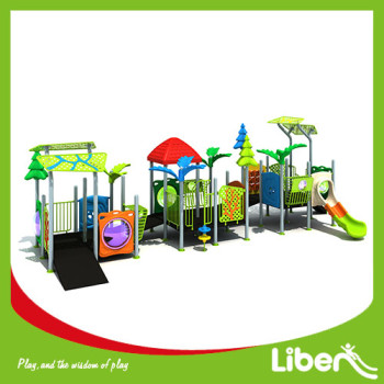 Cheap Kindergarten Swing Slides Amusement Park Outdoor Playground made in China