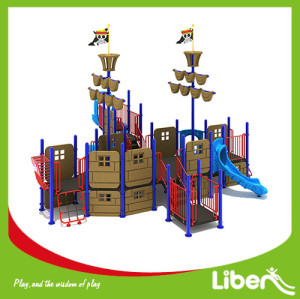 China High quality Kindergarten Swing Slides Amusement Park Outdoor Playground