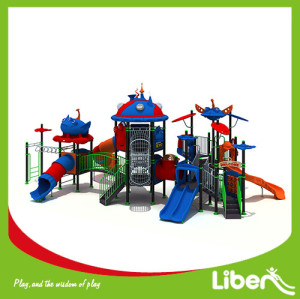 Good quality children customized outdoor playground equipment,plastic product