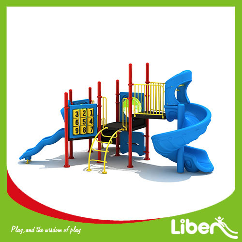 hot sales china kids game large franchise plastic no roof outdoor playground