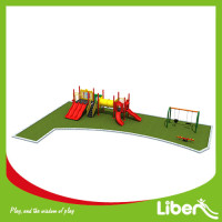 Outdoor Playground Type customized high quality Kids Outdoor Playground / Large Plastic Amusement Park