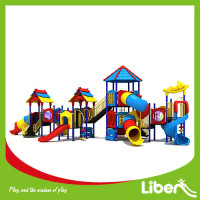 Europe Standard kids play system plastic outdoor playground, Outdoor Development for sale