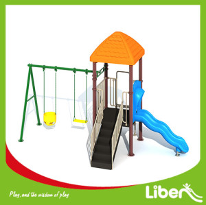 Liben Hot sale funny kids used amusement park outdoor playground equipment