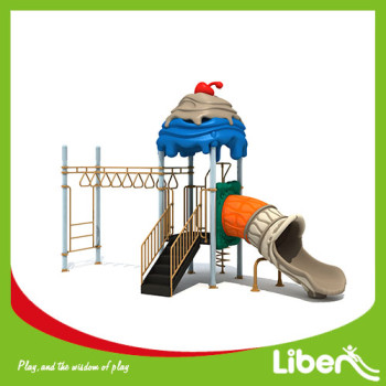 China Plastic Playground,LLDPE Material and children outdoor playground equipment