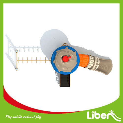 China Plastic Playground,LLDPE Material and children outdoor playground equipment