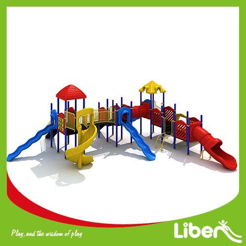 China Popular Outdoor Playground Equipment with Swing for Children