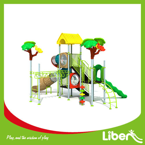 China Popular Outdoor Playground Equipment with Swing for Children hot sale