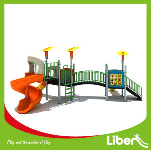 China Popular Outdoor Playground Equipment with slide for Children