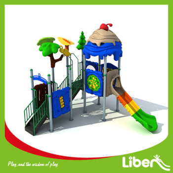 Beautiful and Colorful Children Outdoor Playground Equipment