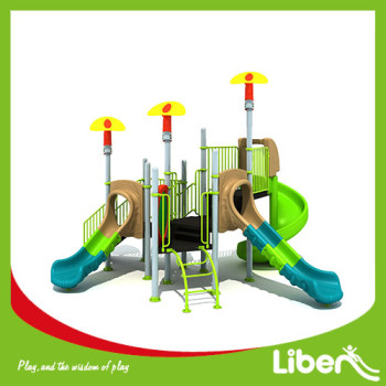 Liben Factory price kids swing and slide outdoor playground equipment