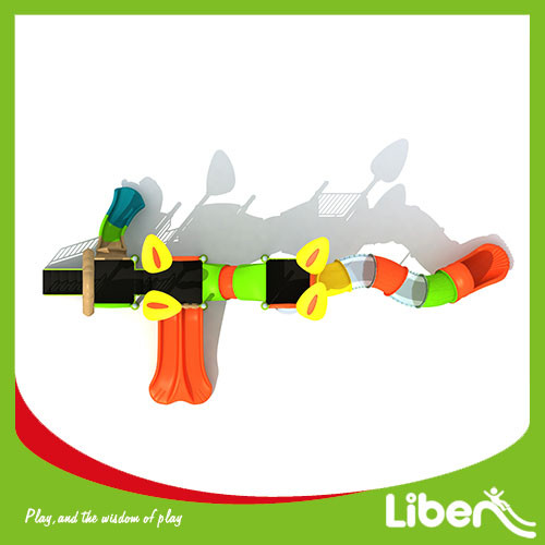 Liben Factory price kids swing and slide outdoor playground equipment