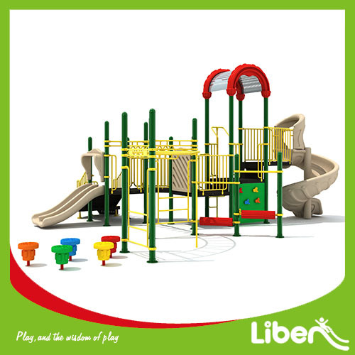 2017 Special Design Soft Playground children outdoor playground equipment