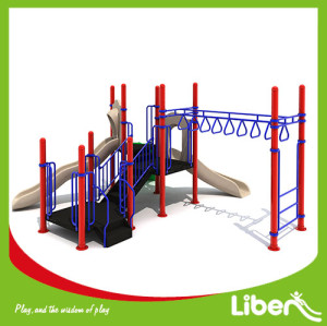 Special Customized  Design Soft Playground children outdoor climbing playground equipment