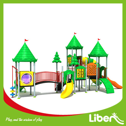 China Amusement Park Playhouse Outdoor Playground Equipment for sale