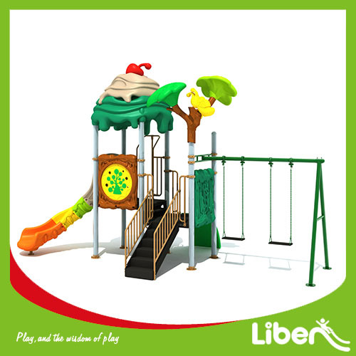 China funny Amusement Park Playhouse Outdoor Playground Equipment for sale